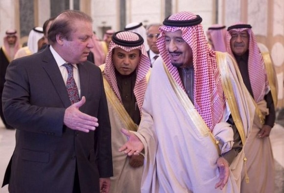 'Are You With Us Or Qatar?', Saudi King Salman Asks Pakistan PM Nawaz Sharif