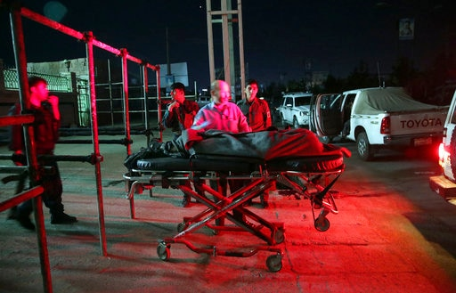 Suicide bombing in a Shia Mosque in Kabul: official