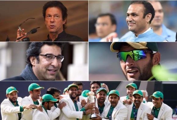 INDvPAK: क्रिकेट की दिग्गज हस्तियों ने जीत पर पाक को दी मुबारकबाद
