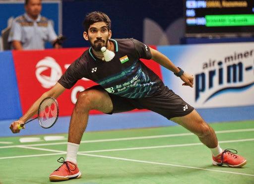 श्रीकांत ने इंडोनेशिया ओपन सुपर सीरीज़ का खिताब अपने नाम किया