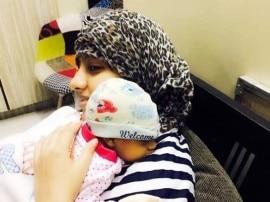 'दीया और बाती हम' की एक्ट्रेस संध्या राठी ने शेयर की बेबी ब्वॉय की पहली तस्वीर
