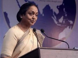 राष्ट्रपति चुनाव: नामांकन से पहले आज मीडिया से बात करेंगी मीरा कुमार