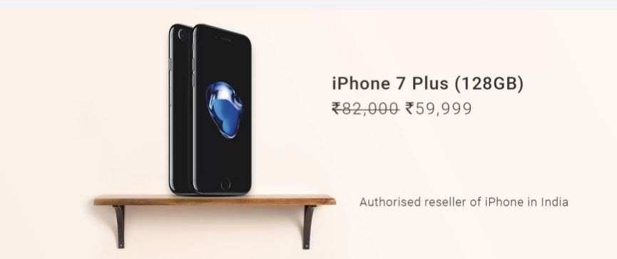 Flipkart iPhone 7 plus discount Rs22000 June 22 - June 24