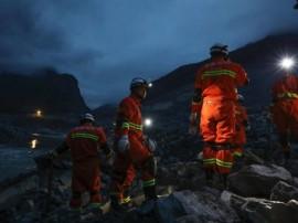चीन में हुए भूस्खलन में 15 व्यक्तियों की मौत, करीब 120 लापता