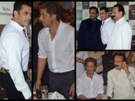 PHOTOS: बाबा सिद्दीकी की पार्टी में अलग-अलग पहुंचे शाहरूख खान और सलमान खान, देखिए तस्वीरें