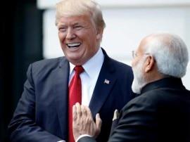 व्हाइट हाउस के डिनर में दिखी मोदी-ट्रंप की खुशमिजाजी