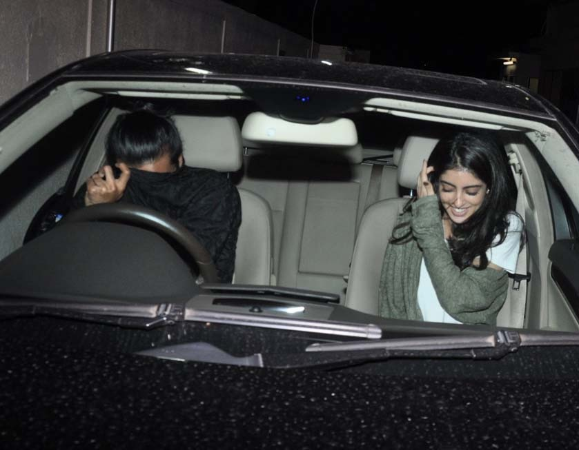 Navya Naveli Nanda Spotted On Date With Male Friend