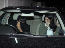PHOTOS: मिस्ट्री ब्वॉय के साथ नज़र आईं नव्या नंदा, पैपराजी को देखा तो मुंह छुपा लिया