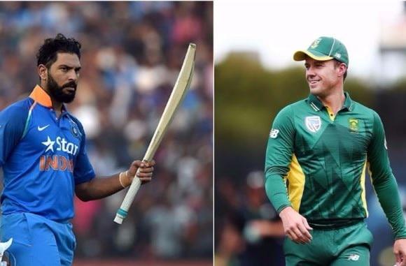 इंग्लैंड के खिलाफ दूसरे टी-20 में डिविलियर्स ने युवराज को इस मामले में छोड़ा पीछे