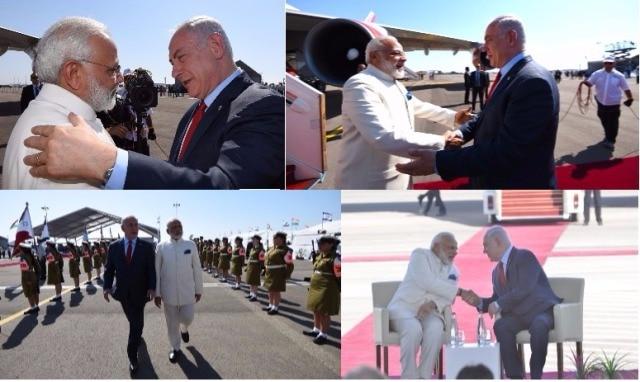 Indian Prime Minister Narendra Modi arrives in Israel for historic visit, 25 stories of Israel