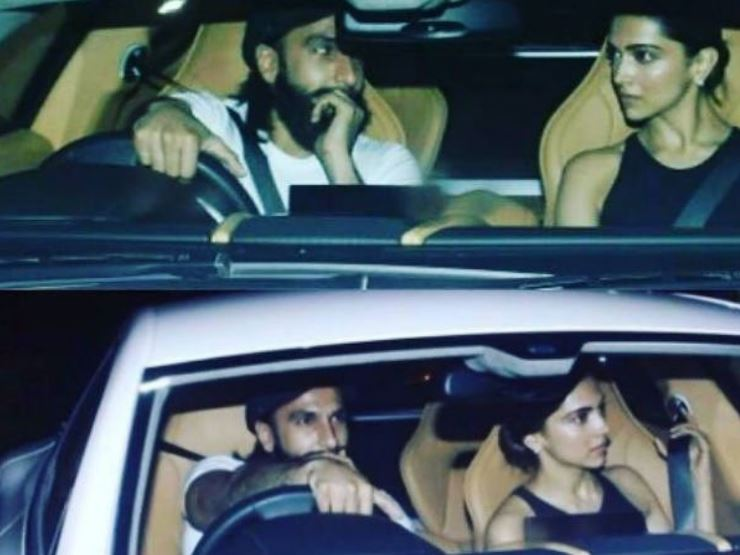 Bollywood actor Ranveer Singh Took Deepika Padukone Out On His Birthday, See Pics