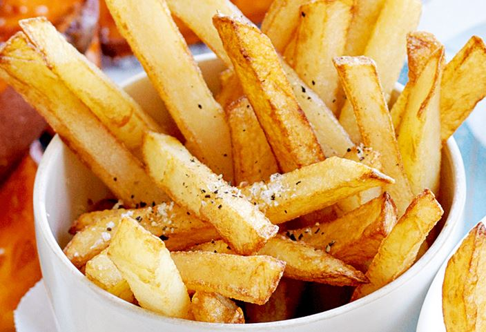 Study finds people who eat them french fries more than twice a week more than double   their risk of death