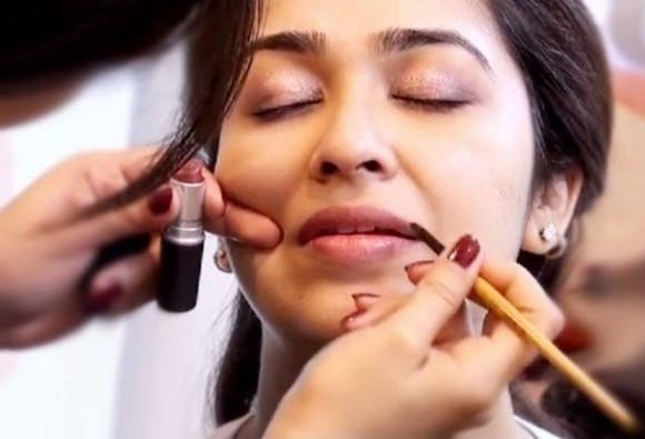 makeup tips for Teej celebration