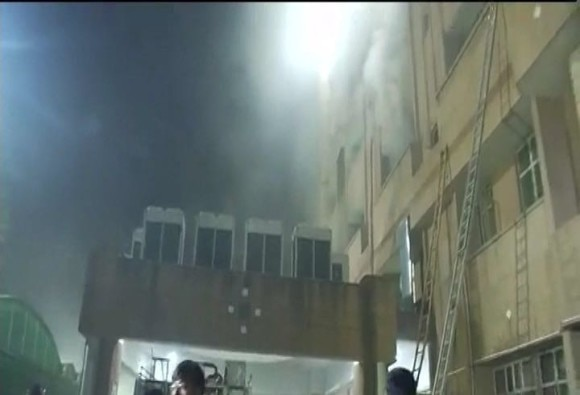 Fire at KGMC trauma center in Lucknow