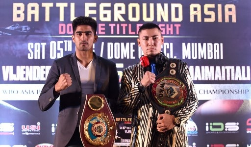 Vijender Singh will face his toughest opponent in me: Zulpikar Maimaitiali