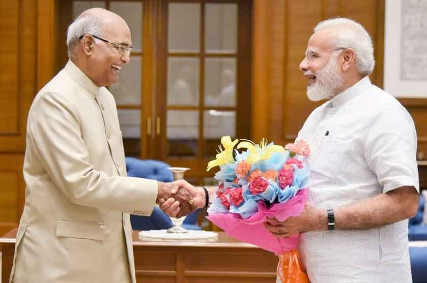 Kovind meets PM Modi