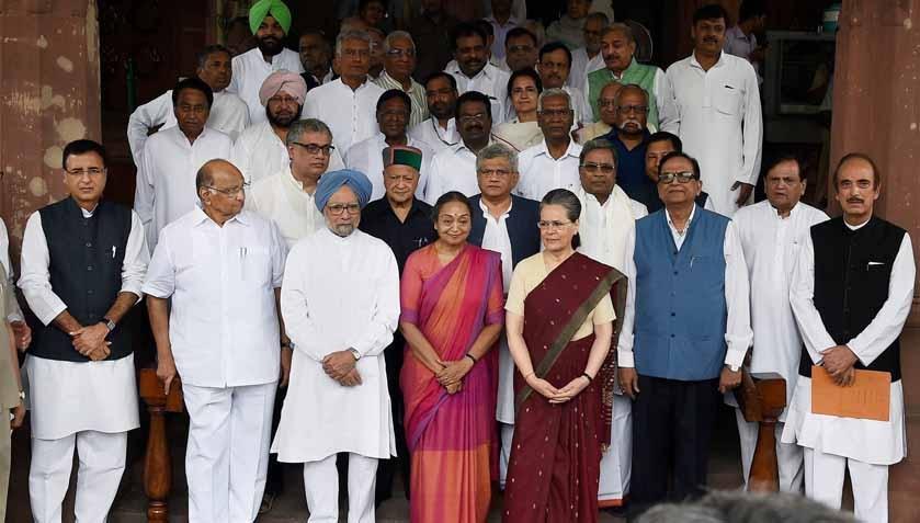 Meira Kumar files nomination