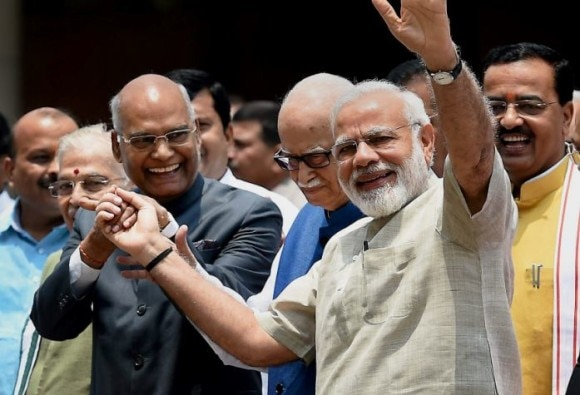 presidential election results: NDA candidate Ramnath Kovind is very close to PM Narendra Modi