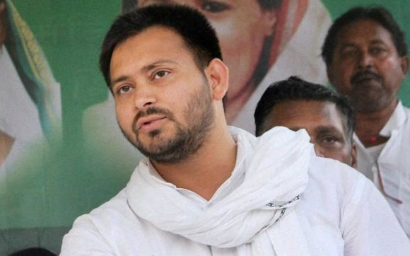 On demand of resignation is only in media says Tejashwi Yadav
