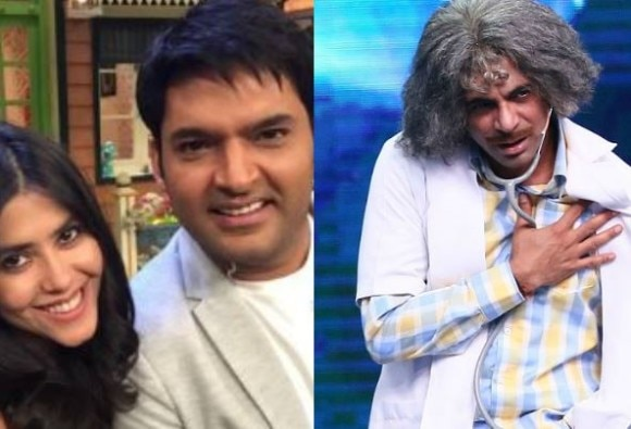 Ekta Kapoor targeted Sunil Grover on, Said- who goes from my show, I kill him on the air!