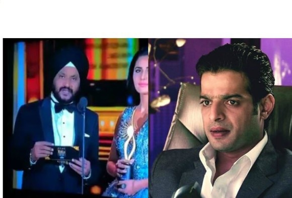 Karan Patel shares a Katrina Kaif blooper in a recently held award show's