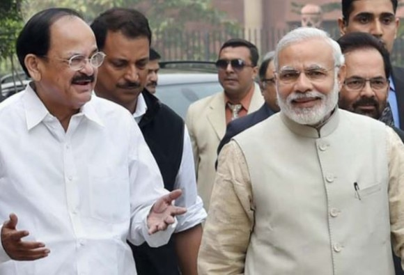 Venkaiah Naidu is NDA's Vice Presidential candidate, decision taken in BJP's parliamentary board meeting