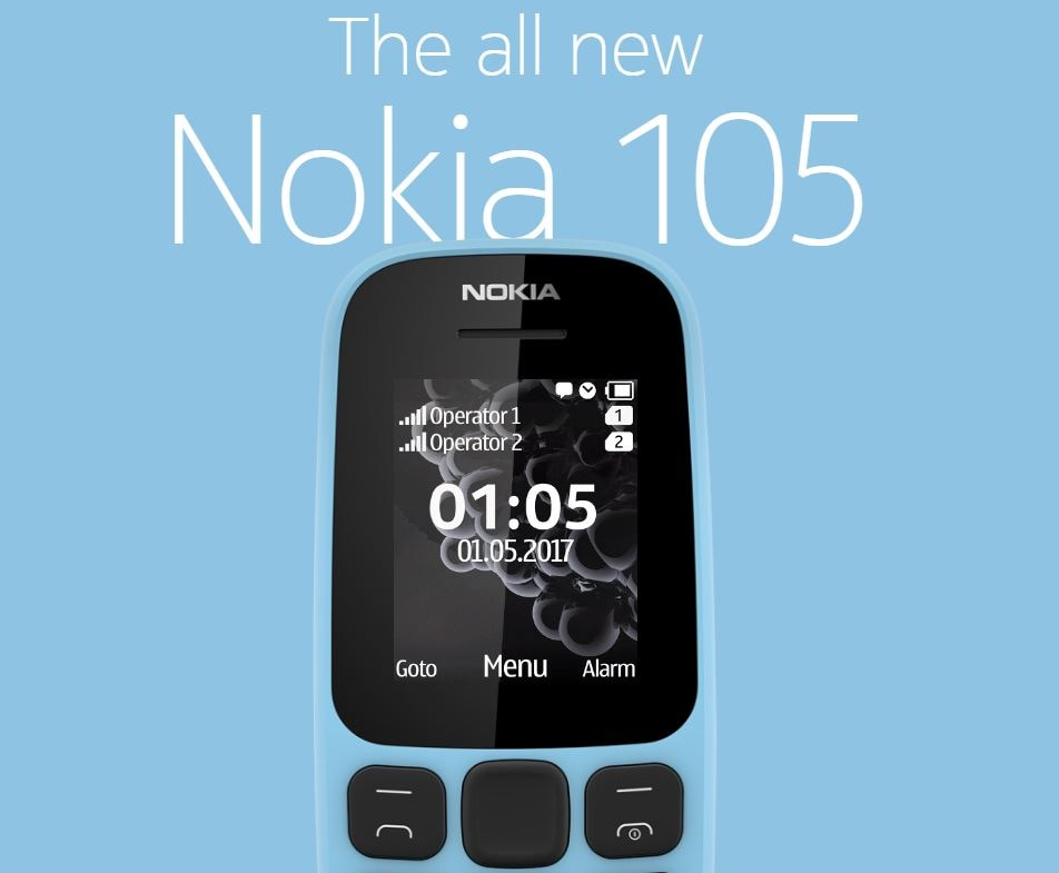 Nokia '105' launches in Indian market, '130' model will come soon