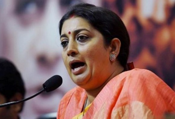 additional charge of I&B to Smriti Irani and Ministry of Urban Development given to Narendra Tomar