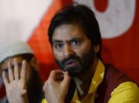 अलगाववादी संगठन JKLF के अध्यक्षयासीन मलिक को पुलिस ने लिया हिरासत में