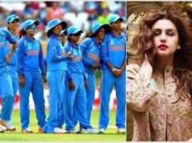 WWC 2017 : फाइनल में जीत पर टीम इंडिया को ये तोहफा देंगी अभिनेत्री हुमा कुरैशी