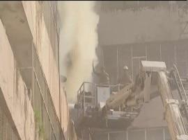 दिल्ली: लोकनायक भवन में लगी आग, इनकम टैक्स, ईडी के दफ्तर इसी इमारत में