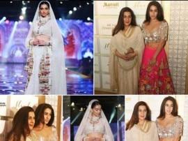 फैशन शो में सारा अली खान का ट्रेडिशनल अवतार देख उनपर टिक गईं सबकी निगाहें, देखें तस्वीरें
