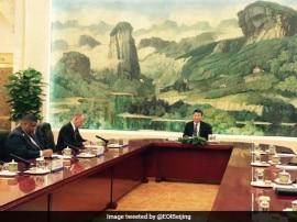 डोकलाम विवाद के बीच चीन के राष्ट्रपति से मिले NSA अजीत डोभाल