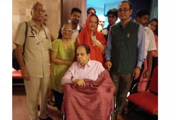 Legend actor Dilip Kumar Discharged From Leelavati Hospital Hospital