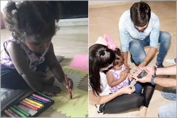 Sunny Leone & daughter Nisha Kaur Weber celebrated Raksha Bandhan, See Pics…