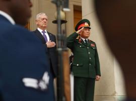 ट्रंप के बाद अमेरिकी रक्षा मंत्री, मैटिस ने दी नॉर्थ कोरिया को तबाही की धमकी