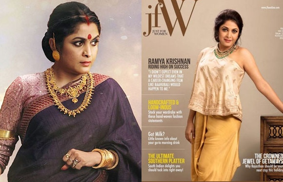 'Baahubali' fame Ramya Krishnan turns into a HOT diva for a leading magazine cover!