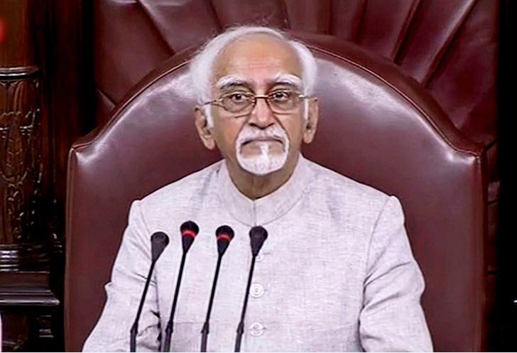 1 News Result(s) for 'hamid ansari last speech'