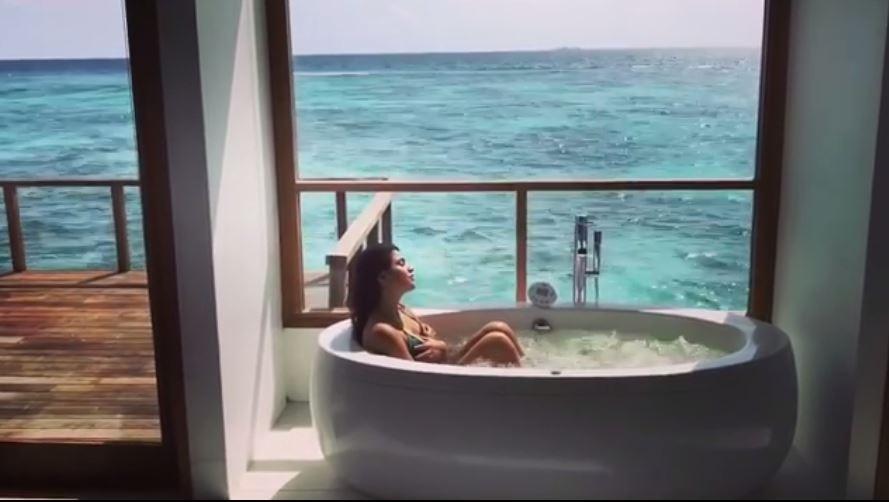 shenaz treasurywala Celebrating Holidays in Maldives