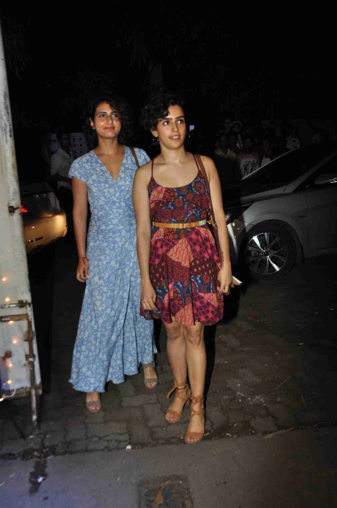 See the latest pictures of fatima sana shaikh and sanya malhotra
