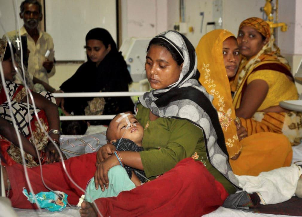 Gorakhpur Children Tragedy: must watch the inside pictures of BRD Hospital