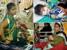 IN PICS: गोरखपुर के BRD अस्पताल के अंदर की ये तस्वीरें आपको झकझोर देंगी!