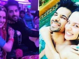 मशहूर टीवी एक्टर कुणाल वर्मा और पूजा बनर्जी ने की सगाई, यहां देखें तस्वीरें और वीडियो
