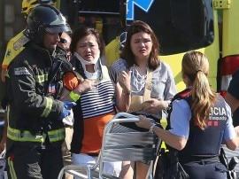 स्पेन: दो शहरों में आतंकी हमले, वैन से कुचलकर 13 की मौत, 100 से ज्यादा घायल
