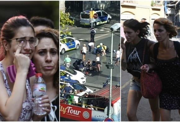 स्पेन: बार्सिलोना में आतंकी हमला, वैन ने लोगों को कुचला, 13 की मौत, 5 संदिग्ध आतंकी ढेर