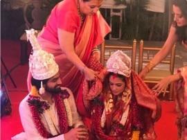 एक्ट्रेस रिया सेन ने ब्वॉयफ्रेंड शिवम तिवारी से रचाई शादी, देखें तस्वीरें...