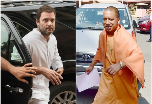 Gorakhpur tragedy: CM Yogi Adityanath attacks on Rahul Gandhi for Gorakhpur visit