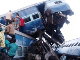 मुजफ्फरनगर ट्रेन हादसे की ताजा तस्वीरें: हादसे में 11 लोगों की मौत