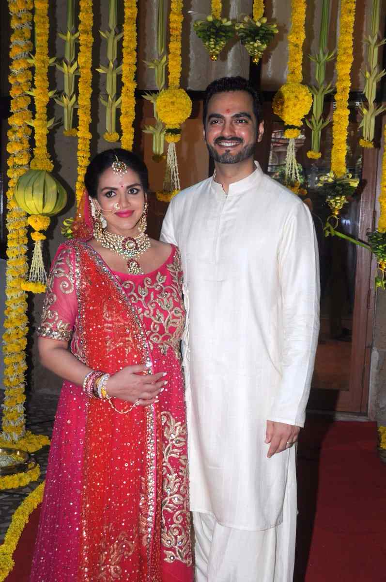 See the Baby Shower pictures of Esha Deol