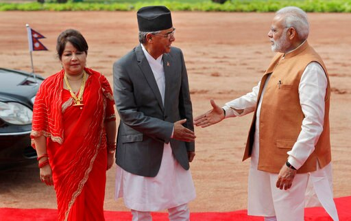 During Nepal's PM's first visit to India, both countries ink eight deals